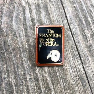 ✨Vintage Phantom of the Opera Broadway Enamel Pin